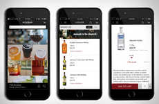 Expansive Alcohol Delivery Apps - 'Minibar Delivery' Enables You to Order Alcohol for Quick Delivery