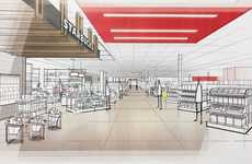 In-Store Beverage Boutiques - This New Concept Target Store Boasts a Wine and Beer Shop