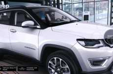 Augmented Dealership Cars - The Jeep Compass Visualiser Shows AR Cars in Dealerships