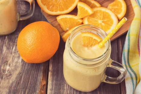 Post-Workout OJ Smoothies - This Delicious Greek Yogurt Smoothie is made with Florida Orange Juice