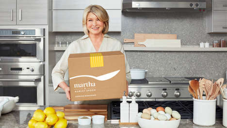 Same-Day Meal Delivery Services - Martha & Marley Spoon is Offering Quick Delivery Through Amazon