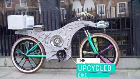 Upcycled Delivery Bikes - Deliveroo's Upcycled Bike is Made with Unused Kitchen Tools