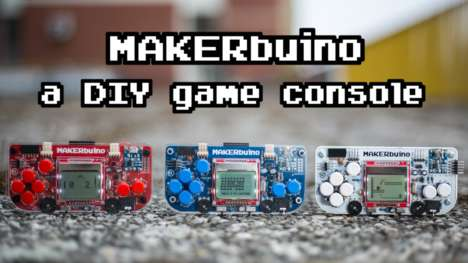 DIY Gaming Consoles - 'MAKERbuino' is a Customizable DIY Game Console That Can Be Made for $35