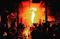 Circus-Inspired Nightclubs - The CIRCO Nightclub Offers a Wacky and Mystical Night Out