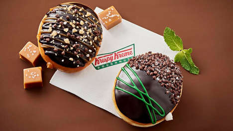 Upscale Chocolate Donuts