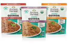 Heat-and-Eat Quinoa Side Dishes - The Ancient Harvest Microwaveable Organic Quinoa is Protein-Rich