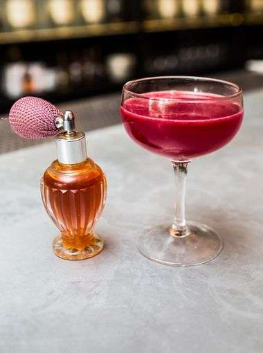 Fragrantly Perfumed Cocktails - At Mace, Craft Cocktail Drinks are Misted to Add Gentle Flavors