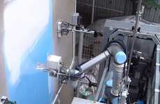 Safe Painting Robots - Painting and Washing Robot OutBot is for High-Rise Buildings in Singapore