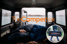 Vehicular Camping Bed Frames - The 'Camperbox' Backseat Bed Makes Car Camping a Comfy Experience