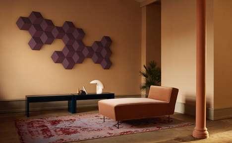 Hexagonal Artwork Speakers