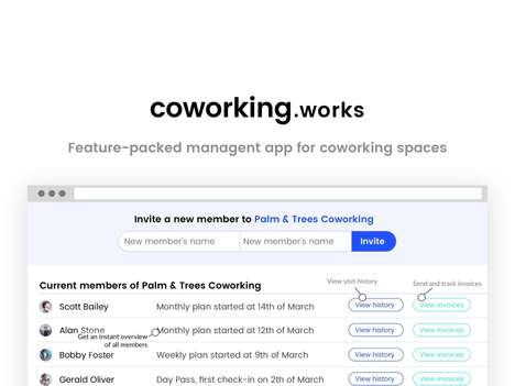 Coworking Space Management Apps