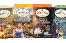 Disney Tea Collections - Twinings Launched a Herbal Tea Collection Inspired by Beauty and the Beast
