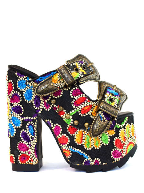 Maximalist Printed Sandals