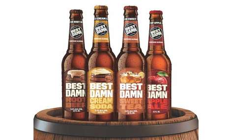 Boozy Artisanal Adult Sodas - The BEST DAMN Brewing Co. Released Two New Flavored Sodas