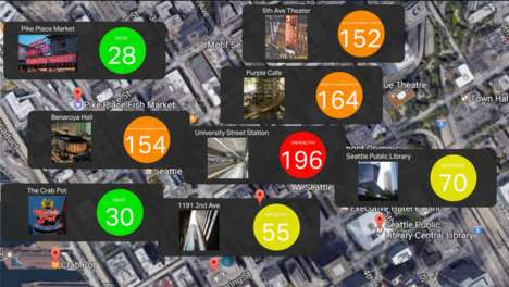 Social Air Pollution Apps