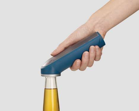 Cap-Storing Bottle Openers