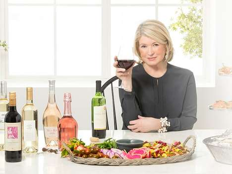 Celebrity Homemaker Wine Services - Martha Stewart Wine Co. is an Online Shop Curated by Stewart