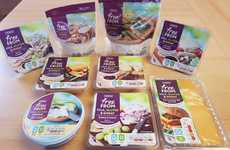 Free-From Cheeses - Tesco and Bute Island Foods Teamed Up to Make Vegan Cheese Products