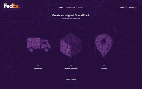 Musical Parcel Tracking