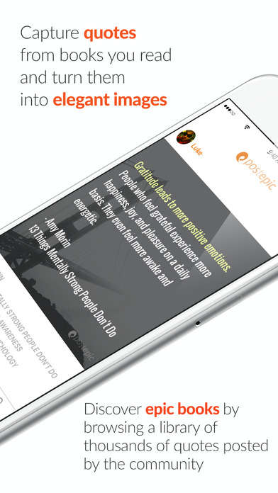 Simplified Quote-Capturing Apps