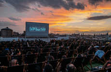 Rooftop Landscape Movie Screenings