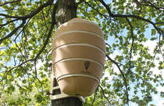 Urban Honey Bee Hives
