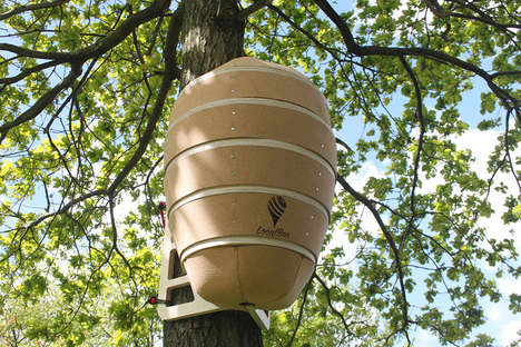 Urban Honey Bee Hives - The Local Bee Hive is a Prebuilt Place for Bees to Flourish