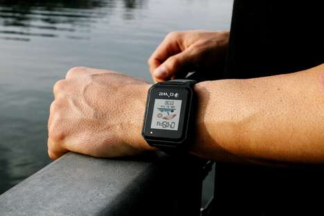 Sun Exposure-Tracking Smartwatches