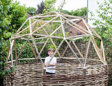 DIY Wooden Stick Domes