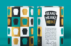 Retro Bean Cans - The Beanz Meanz Heinz Slogan is Celebrating Its 50th Anniversary with Special Cans