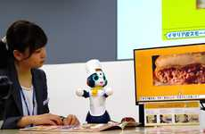 Tabletop Restaurant Robots - Bots from Coco's Family Restaurant Chain Entertain Patrons as They Wait