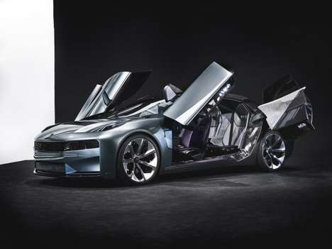 Suicide Door Chinese Sedans - The Lynk & Co 02 Looks Ready to Take on the World's Best Luxury Cars