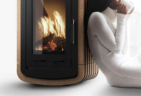 Cork-Infused Stoves