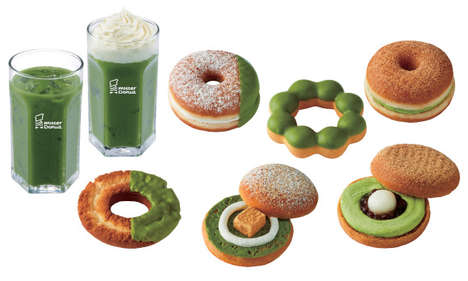 Matcha Donut Collections