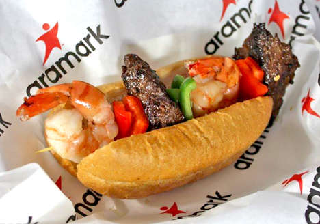 Seafood Kebab Hot Dogs
