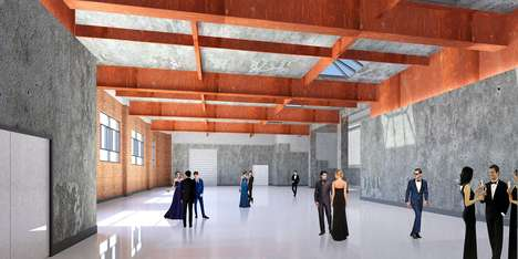 Modernized Rustic Event Spaces - 150 Symes Road is a Heritage Incinerator Turned Wedding Venue