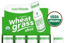 Prepackaged Wheatgrass Shots - Nutriblade's Immune-Boosting Shot Can Easily Be Taken on the Go