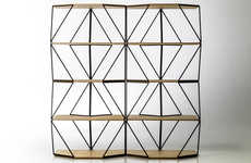 Geometrically Shapeshifting Shelving