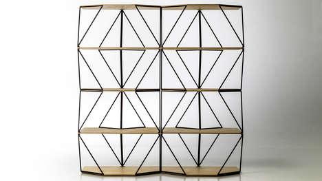 Geometrically Shapeshifting Shelving