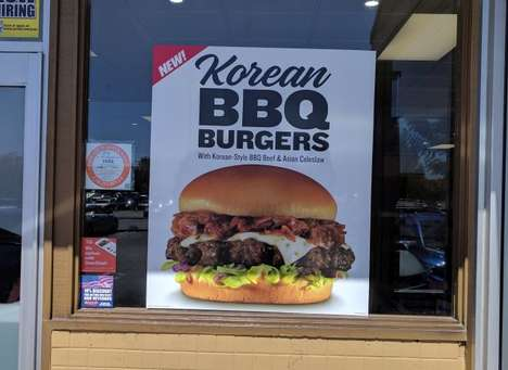 Korean Cuisine Burgers