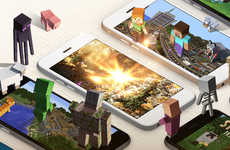 Online Building Game Shop - 'Minecraft Pocket' Now Has an Online Store That Includes PC Add-Ons