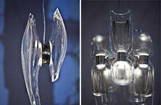 Curvaceous Architectural Chandeliers