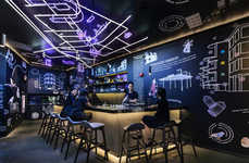 Millennial-Focused Neon Hostels