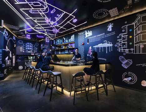 Millennial-Focused Neon Hostels - COO Hostel was Designed with Millennial Guests in Mind