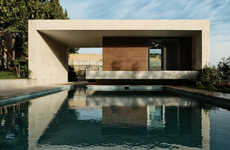 Concrete Pool Pavilions