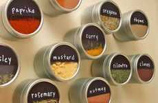 Magnetic Seasoning Storage Tins