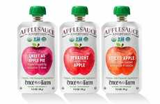 Cold-Pressed Applesauces - The Applesauce Adventures Organic Applesauces are Ideal for All Ages