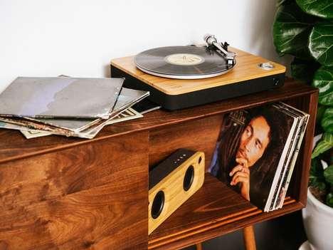 Reggae-Themed Turntables
