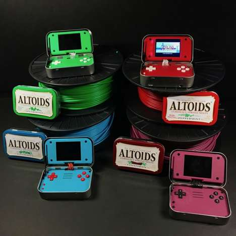 Minty Retro Gaming Handhelds