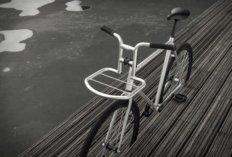 Platform-Embedded Bike Handles